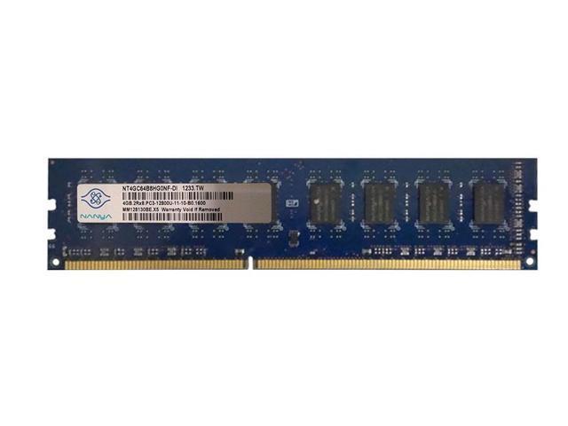 A-Tech 4GB PC3-12800 DESKTOP DIMM DDR3 12800 1600MHz 1600 240-pin RAM Memory 4G