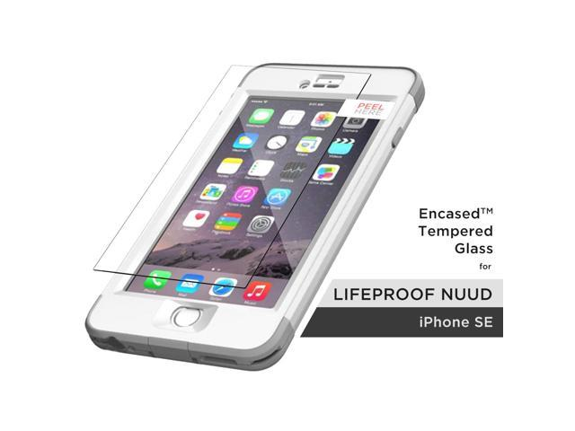 the best attitude 6c13f 37bcf Lifeproof Nuud Tempered Glass Screen Protector, Encased (R40) ShatterProof  Guard (case not included) (iPhone 5/SE) - Newegg.com