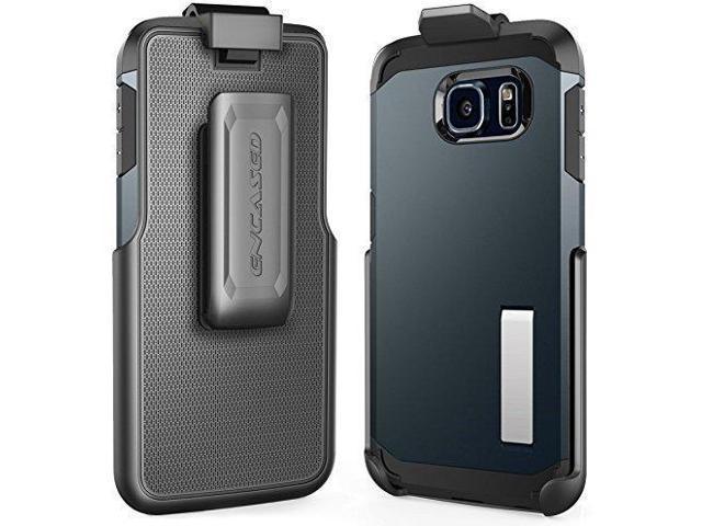 timeless design 8ce15 a3e3d Belt Clip Holster for Spigen Tough Armor Case - Galaxy S6 Edge (By Encased)  (case is not included) - Newegg.com