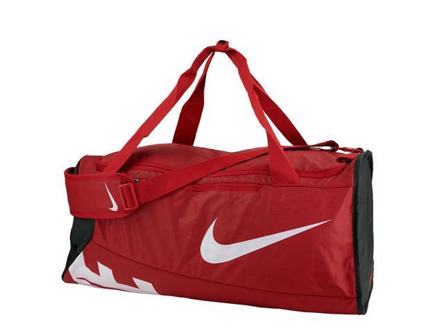 8008db56f40e Nike Alpha Adapt Crossbody Medium Duffel Bag Gym Red Black White