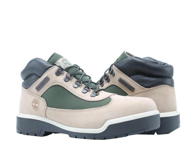 Timberland Waterproof Field Boot BeigeGreen Men's Boots A1RC9 Size 11