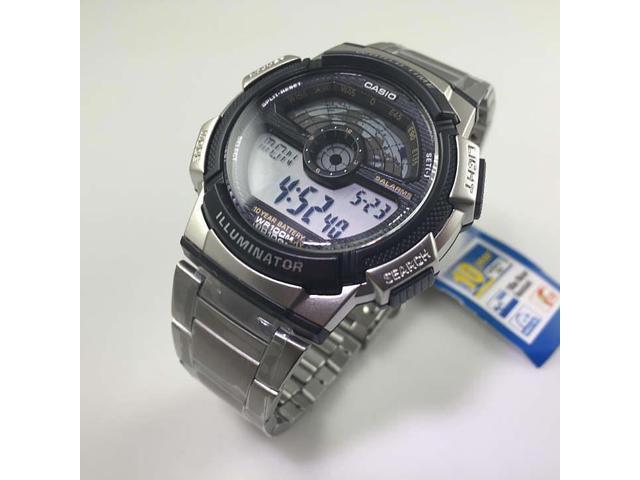 Men S Casio Sport World Map Time Watch Ae1100wd 1a Newegg Com