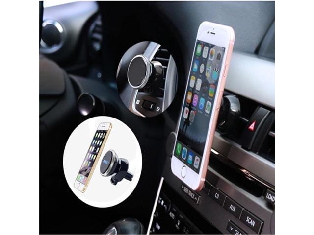 5be3f2489de2 GPS Holders Magnet Bracket Car Air Vent Mount Cradle Universal Auto Mobile  Phone Stand Holder(Silver) - Newegg.com