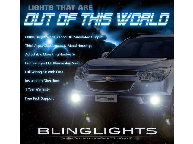 2015 Chevy Trailblazer >> 2013 2014 2015 Chevrolet Chevy Trailblazer Xenon Fog Lamps Driving Lights Foglamps Foglights Kit