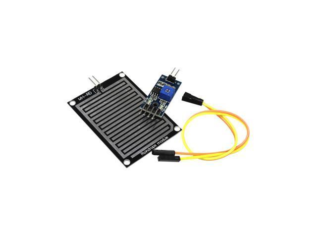 Rain Sensor Water Raindrops Detection Module For arduino Raspberry Pi -  Newegg com