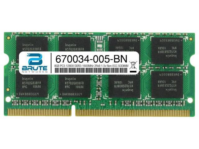 AMD PC3-10600 1333MHz DDR3 SODIMM RAM 4GB Memory Upgrade for HP Pavilion g6-2xxx Series PARTS-QUICK Brand