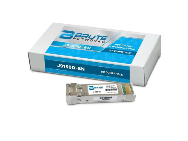 Compatible with OEM PN# 45W4262 10GBASE-SR 300m MMF 850nm SFP Brute Networks 45W4262-BN Transceiver