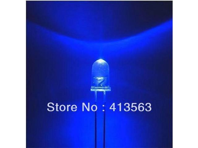 1000pcs F5 5mm Blue Round Superbright LED Light LED lamp GOOD QUALITY BEST