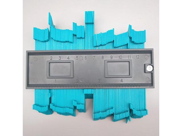 Plastic Contour Gauge Profile Duplicator Tracing Template Measuring Tool