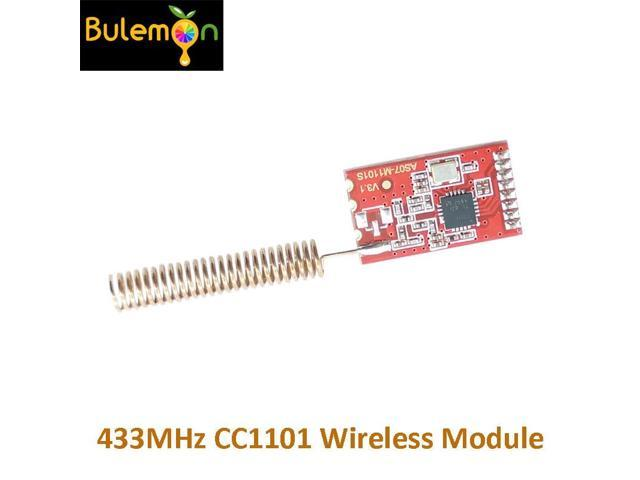 10pcs/lot 433MHz CC1101 Wireless RF Transceiver Module SI4432 RF Serial  Communication Transmission - Newegg com