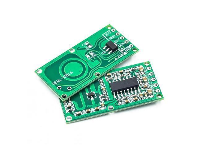 RCWL-0516 microwave radar sensor module Human body induction switch module  Intelligent sensor - Newegg com