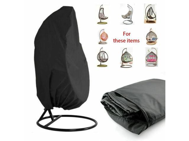 Remarkable Outdoor Swing Eggshell Chair Dust Cover Garden Weave Hanging Egg Chair Seat Cover Anti Uv Waterproof Home Hanging Organizer Pdpeps Interior Chair Design Pdpepsorg