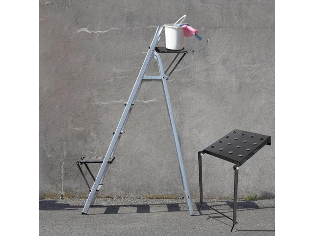 Wondrous Ladder Platform Accessory Heavy Duty Work Stand System With Step Stools Staircase Tray Tool Parts Newegg Com Alphanode Cool Chair Designs And Ideas Alphanodeonline