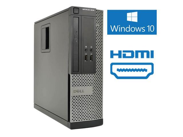 Refurbished: Dell Optiplex 3010 Small Form Desktop, Intel Quad Core i5 3470  3 2Ghz, 16GB DDR3 RAM, 2TB Hard Drive, HDMI, Windows 10 - Newegg com