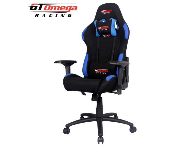 Gt Office Chair With Gaming Pro Omega Fabric Black Side Blue Racing 7bY6gvfyI