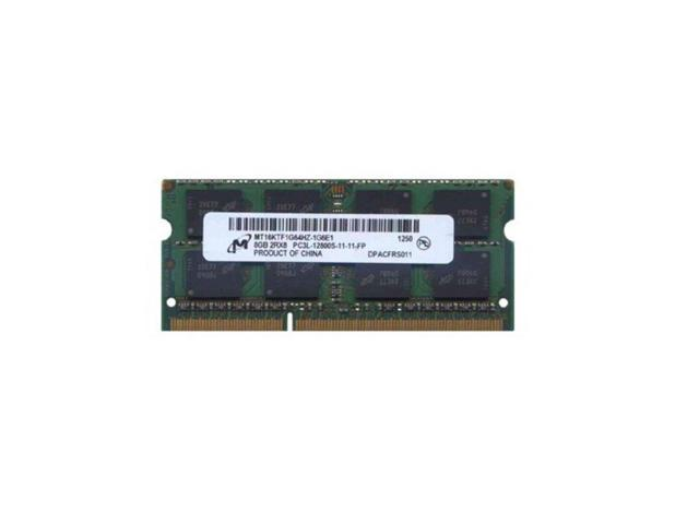 16GB 2x8GB MICRON PC3L-12800S DDR3-1600MHz Low Volt SoDimm Laptop Notebook RAM