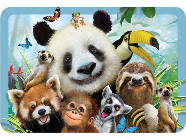 EuroGraphics Howard Robinson Panda /& Friends Selfie 3D Placemat