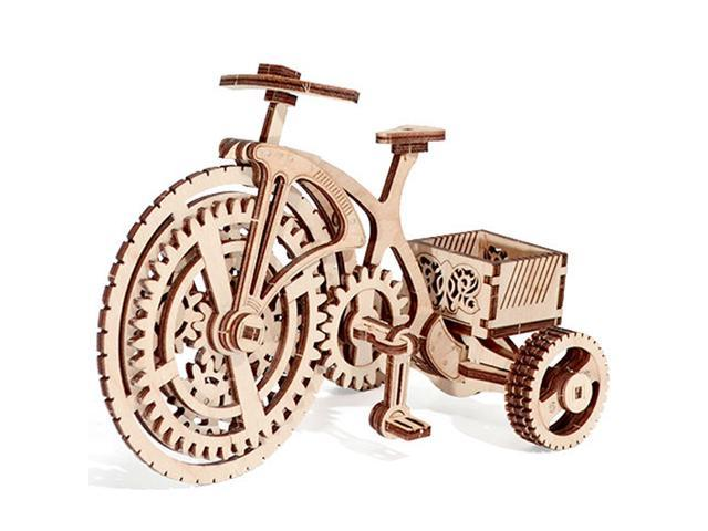 Wood Trick BICYCLE Bike Cycle 3D Wooden Puzzles ( Mechanical Models ) -  Newegg com