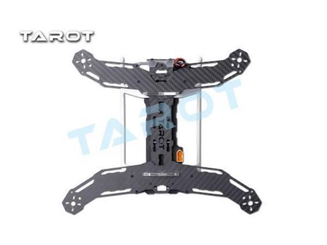 TAROT Mini 300 Carbon Metal Quad copter main frame Kit Built-in PCB board  TL300A - Newegg com