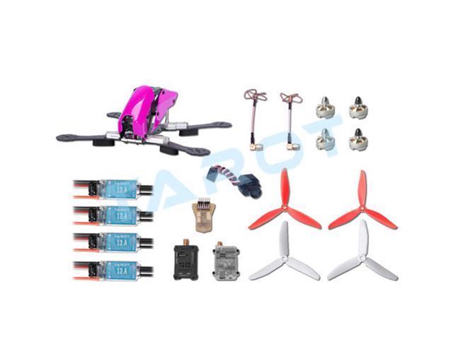 Tarot 280 Through FPV Quadcopter Drone Combo Set Carbon Fiber Frame TL280C  with Mini CC3D ESC Motor Propeller Camera - Newegg com