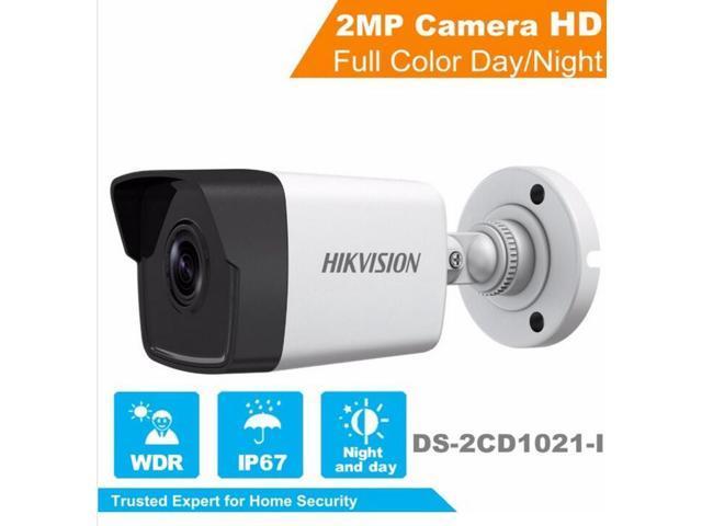 HIKVISION DS-2CD1021-I 2MP 1080P Hik bullet IP camera security Camera (6  mm) - Newegg com
