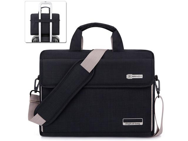 Brown LB1 High Performance Leather Unisex Business Messenger Bag Briefcase Bag for Acer 13.3 LED Notebook /& Laptop Bundle