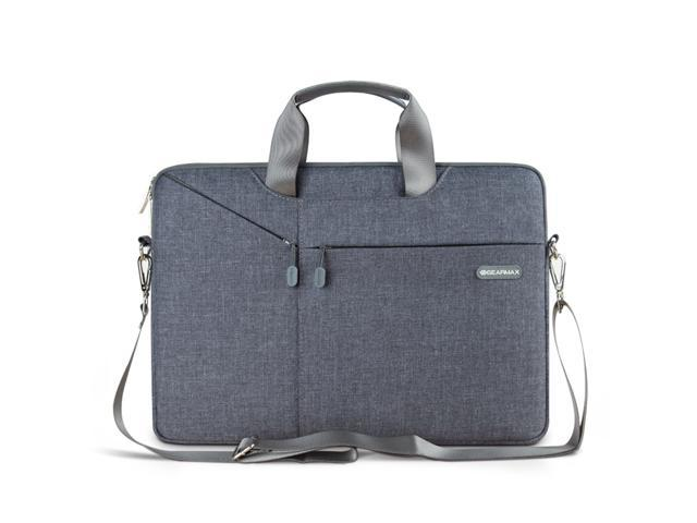 "Notebook Messenger Case Sleeve Handbag Shoulder Bag For 15.6/"" 15/"" Laptop PC"