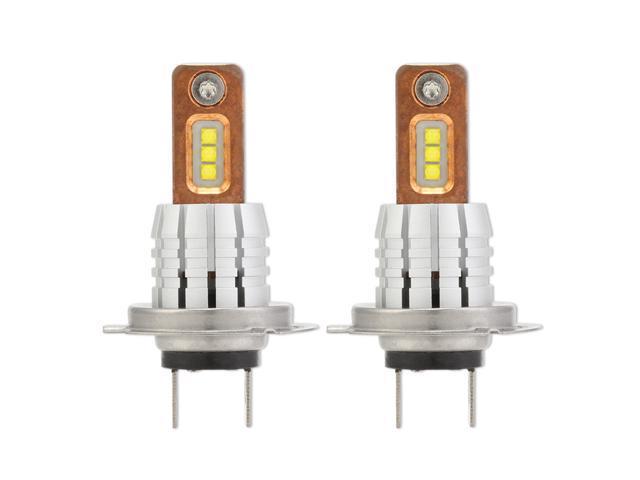 NIGHTEYE H7 LED Light Bulbs 6 CSP Chips 1800 Lumens 60W xenon White 6000K  for Car Fog Light (pack of 2) - Newegg com