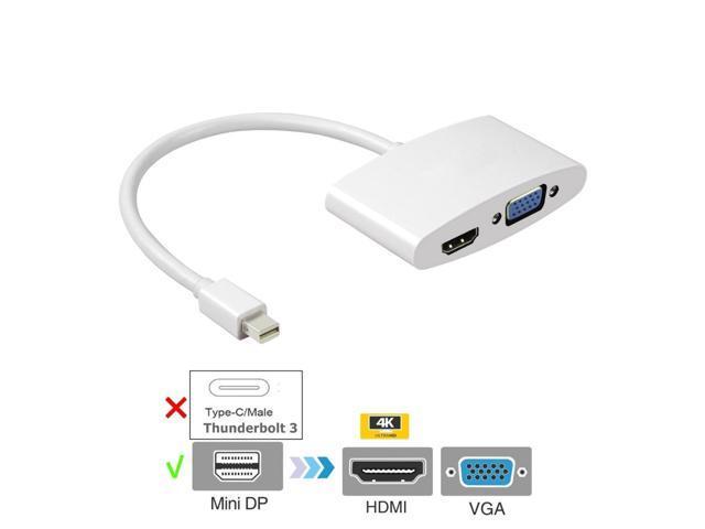 Mac Mini Laptop Male iMac Cable Compatible with Apple MacBook MacBook Pro Insten Mini DisplayPort to HDMI Adapter MacBook Air