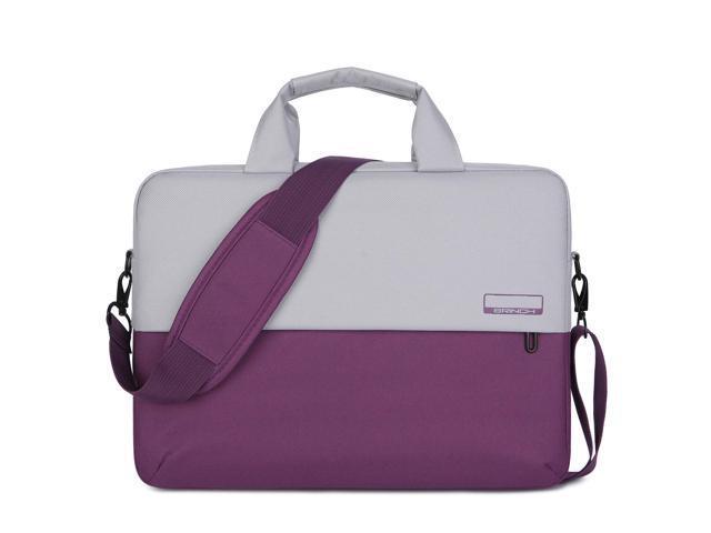 8f7248a35e00 BRINCH Laptop Shoulder Bag Compatible 15-15.6 Inch MacBook Pro Retina,  MacBook Pro, Dell HP Acer Lenovo Chromebook Notebook Ultrabook, Polyester  ...