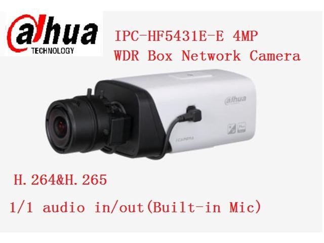IPC-HF5431E-E 4MP H 264&H 265 Face Detection 3D DNR WDR Box