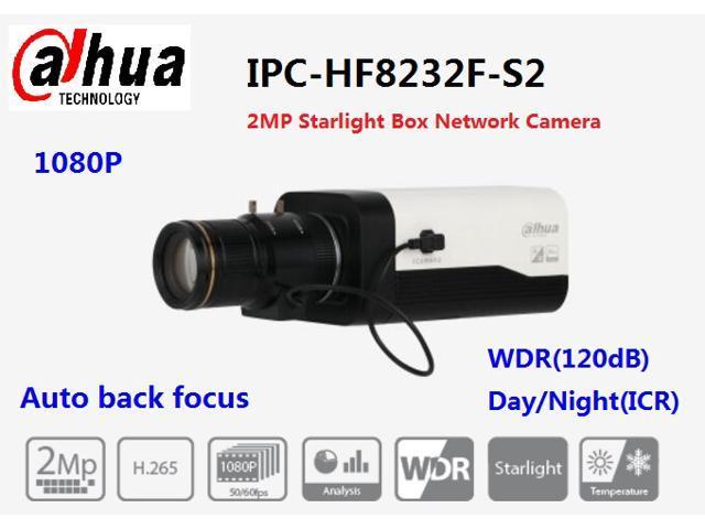 Dahua IPC-HF8232F-S2 2MP H 265 CBR/VBR Starlight Box Network Camera -  Newegg ca