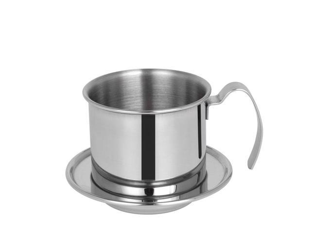 The Portable Stainless Steel Vietnam Coffee Dripper Filter Coffee Maker Drip Coffee Filter Pot Filters Tools Newegg Com