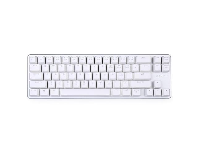 Magicforce 68 Keys Gaming Mechanical Keyboard Wired Brown Switch Silver White