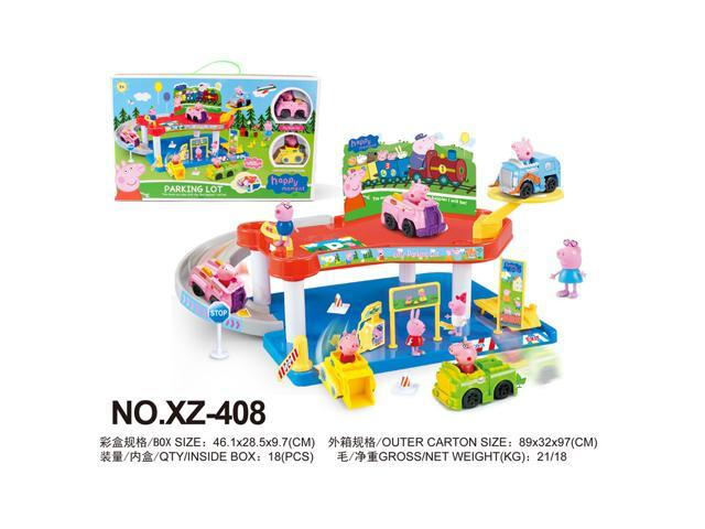 Piggy Paige Pepe,Track Tires,Parking Lots, Puzzle Assembly, Children's Toy  Cars - Newegg ca