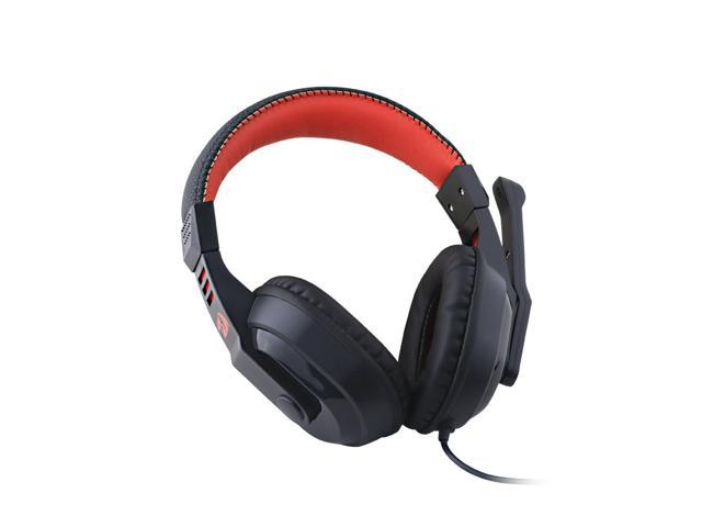 Wired Over Ear PC Gaming Headphones with Mic Built Redragon H101 Gaming Headset
