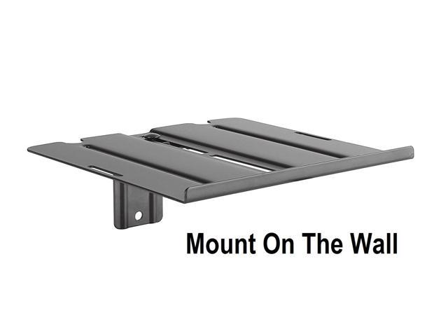 MountPlus DVD-31 Dual-Use DVD Shelf Mount For DVD players, AV Receivers,  Cable Boxes, Speakers and Audio or Video Equipment (On the Wall Or Back of