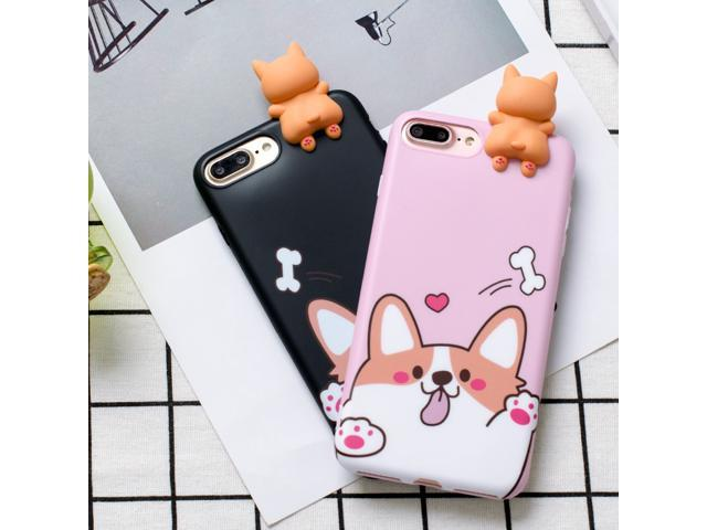Dog 3D Cute Cover For Iphone 6 6s Plus