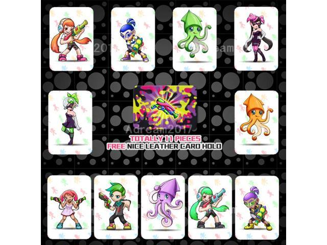 picture relating to Printable Amiibo Cards named Splatoon 2 Finish Fixed Custom-made AMIIBO NFC TAG Playing cards 11personal computers/pack for NS Replace WII U Contemporary3ds -
