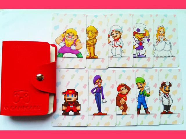 New 10pcs Super Mario Odyssey Amiibo Nfc Tag Cards For Ns Switch
