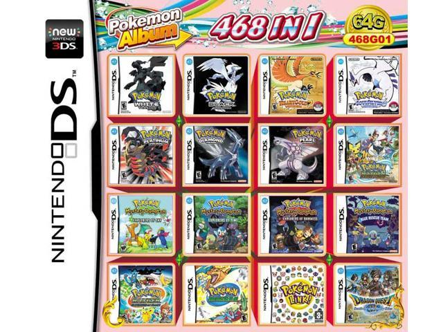 468 Games in 1 NDS Game Pack Card Pokemon Album Cartridge for Nintendo DS  2DS 3DS New3DS XL - Newegg ca