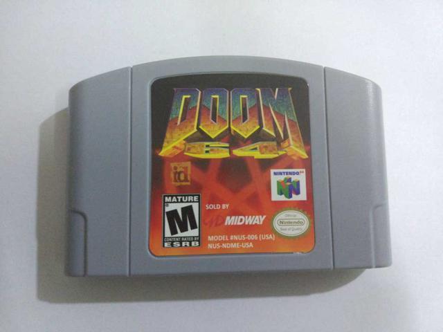 Doom 64 - Nintendo 64 Video Game Cartridge for N64 Console