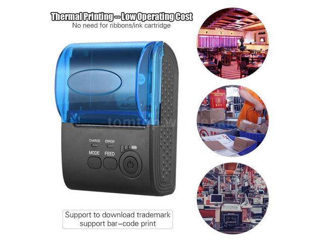 POS-5805DD 58mm Bluetooth Wireless Thermal Receipt Printer-iOS Android  Windows - Newegg com