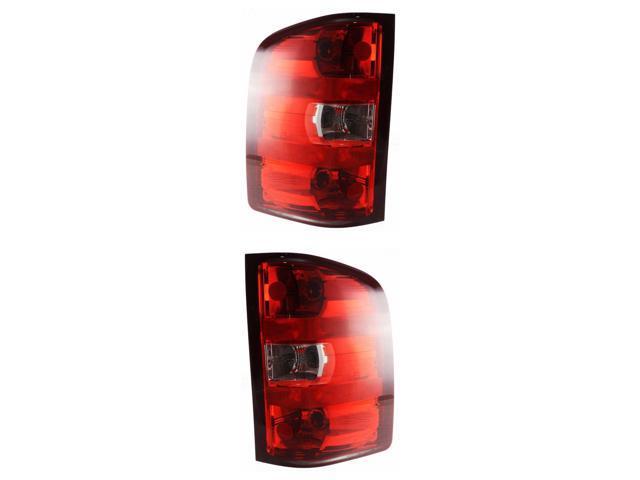 Red Tail Brake Light /<Left Driver Side/> 14-18 Chevy Silverado 1500 2500 3500 HD