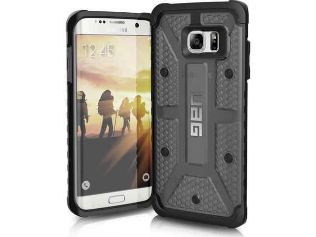 finest selection 1e1fa 30b39 URBAN ARMOR GEAR Composite Case for Samsung Galaxy S7 Edge - Ash/Black -  Newegg.com