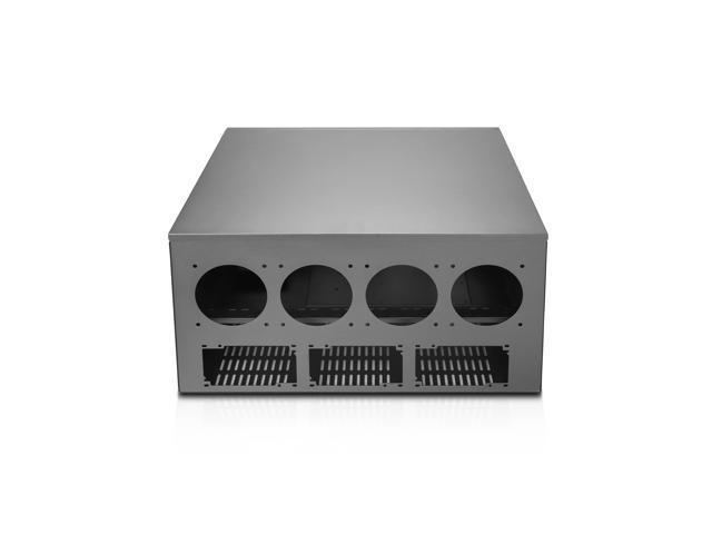 Hydra VIII Modular 10 GPU Mining 6 5U HPC Case, Triple PSU Ready -  Newegg com