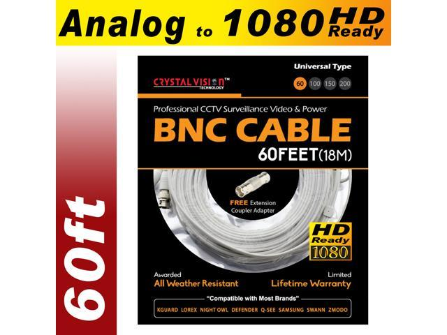 New High Quality 150FT Thick BNC EXTENSION CABLE for Samsung,Swann,Zmodo,Lorex