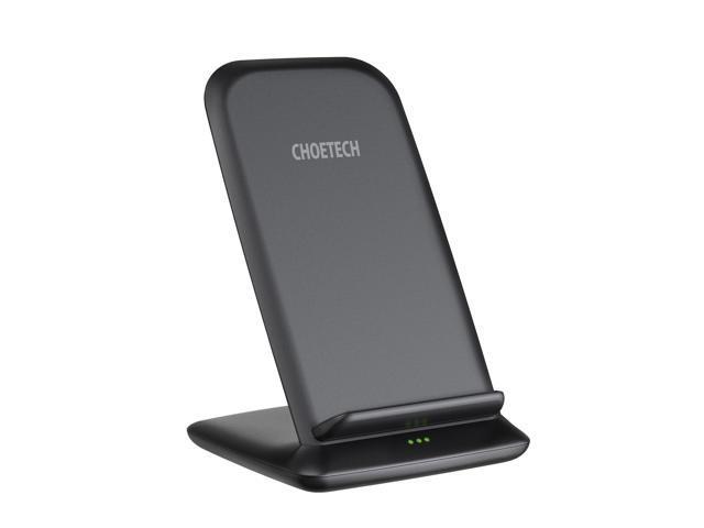 CHOETECH Wireless Charger, 10W Max Fast Qi Wireless Charging Stand, Compatible iPhone 1111 Pro11 Pro MaxXS MaxXRXSX88 Plus, Galaxy Note