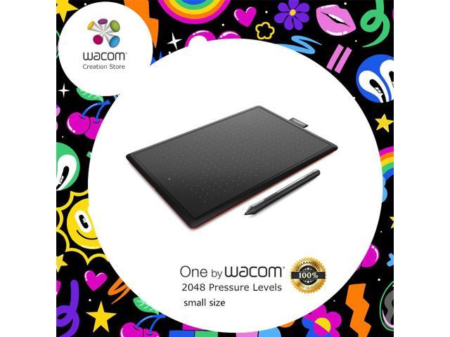 One by Wacom CTL-472 Digital Tablet Graphic Drawing Tablets 2048 Pressure  Levels + 1 Year Warranty - Newegg com