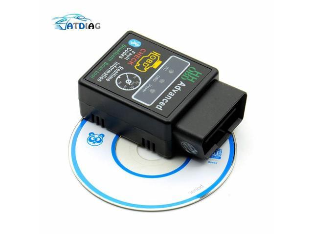 OBD2 HH OBD ELM327 Bluetooth OBDII CAN BUS Check Engine Car Auto Diagnostic  Scanner Tool Interface Adapter For Android PC - Newegg com